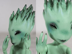 [Commission] Absinthe Creatures Dolls (koalakrashdolls) Tags: bjd balljointeddoll ball joint jointed doll dolls creaturedolls creature creatures absinthe koalakrash koala krash monster cute fantastic makeup makeupartist artist