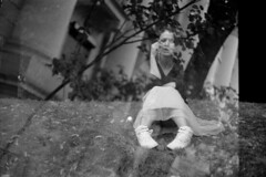 Multiexposition (Yuri Kuchumov) Tags: ilford filmcamera leitzcamera leitz leicarussia leica film onalog russianfilm skan bw blackandwhite blackwhite vintagecamera vintageanalog collapsible zaryadye moscow fp4 fp4plus m6 leicam6 leicam summicron 50mm