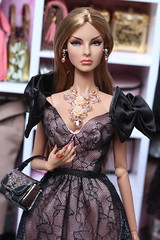 FR girls (Isabelle from Paris) Tags: fashion royalty agnes von weiss baroness fresh perspective live from week convention integrity toys isabelle paris jewels