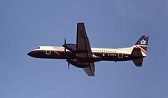 G-BTPO Bae ATP British Airways manchester 16-08-1995 (cvtperson) Tags: gbtpo bae atp british airways manchesterairport man egcc
