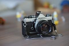 OM1-N+50mm f1.4 (Sony A7II+85mm F2 Om Zuiko Olympus) (dani2989) Tags: 50mm f14 f2 om zuiko olympus sony a7ii novoflex om1n 85mm lens objectif
