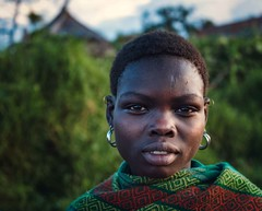 Karamojong Tribe (Rod Waddington) Tags: africa african afrique afrika uganda ugandan woman village karamojong tribe traditional tribal culture cultural portrait people outdoor eastern