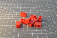Clone brand: Brick 1x2 without studs (Thomas Reincke) Tags: lego compatible clone brand china