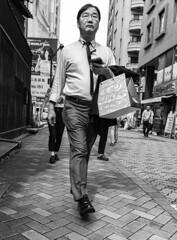 Akasakamisuji Street 3 (MLopht Photography | Dortmund) Tags: japan tokyo akasaka tokyoakasaka akasakamisujistreet stadt city metropole einkaufsstrase shoppingmall geschäft restaurant strase mensch mann streetshot streetphotography streetfotografie schwarzweis einfarbig blackandwhite bw sony alpha 6300 sonyalpha6300 ilce6300 sigma 19mm