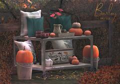 Barley - Autumn is Here Set (John Barley SL) Tags: barley homedecor secondlife originalmesh