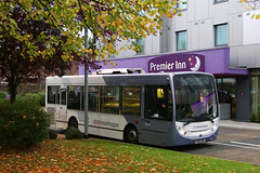 SN08 ABK, Premier Inn, Bath Road, Longford, October 26th 2017 (Southsea_Matt) Tags: sn08abk 8327 nationalexpress alexanderdennis enviro200 adl e200 bus omnibus passengertravel publictransport october 2017 autumn canon 80d unitedkingdom greaterlondon england londonheathrow longford bathroad premierinn