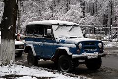 УАЗ (Aleksey Guskov) Tags: россия ульяновск автомобиль уаз снег осень russia ulyanovsk autumn car uaz snow
