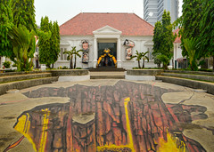 National Gallery of Indonesia (Francisco Anzola) Tags: jakarta indonesia city capital museum nationalgallery 3d illusion colonialarchitecture