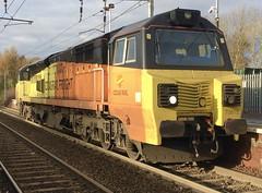 Colas Rail Class 70 (70815) - Holytown (saulokanerailwayphotography) Tags: class70 70815 colasrailfreight