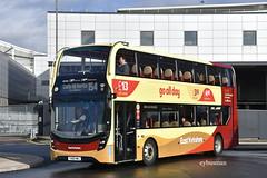 Go Ahead East Yorkshire 914, YX69NMJ. (EYBusman) Tags: go ahead east yorkshire motor services eyms north bus coach brand new st stephens paragon interchange hull city centre alexander dennis enviro 400 mmc yx69nmj eybusman