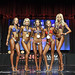 Bikini True Novice 4th McBride 2nd Stone 1st De Jong 3rd Hawley 5th Karmark