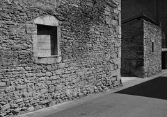 wall and shadows (babou.clermont) Tags: mur ombres pierres