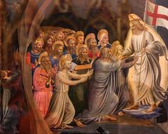 Deus Viventium (Lawrence OP) Tags: biblical resurrection fraangelico blessed johnoffiesole harrowingofhell risen lord jesuschrist limbopatrum patriarchs