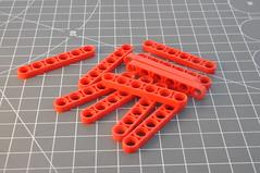 Clone brand: Liftarm 1 x 6 Thin (32063) (Thomas Reincke) Tags: lego compatible clone brand china