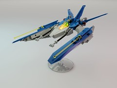 LL71077345 NCS Viper (Littlepixel™) Tags: ncs afol lego classic vic viper nnenn novvember microscale benny spaceship swooshable wip3out blender render ldraw november