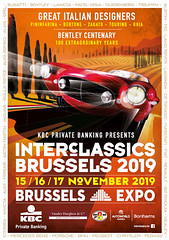 We invite you to visit our stand at Interclassics Brussels 2019.