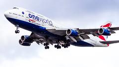 Boeing 747-436 G-CIVD British Airways - Oneworld Livery (William Musculus) Tags: london heathrow lhr egll spotting aviation plane airplane william musculus boeing 747436 gcivd british airways oneworld livery ba baw special scheme 747400