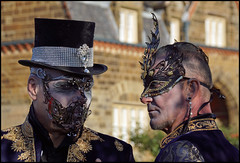 Whitby Goth Weekend. October 2019 1 (MTB1975) Tags: whitbygothweekend whitby goth weekend 2019 october halloween yorkshire coast whitbyabbey portrait people dress dracula horror costume model