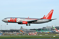 G-GDFC B737-8K2(WL)  Jet2 (n707pm) Tags: ggdfc boeing b737 737800 737wl airport airplane aircraft airline eidw dub ireland collinstown 17012019 jet2 cn28375 dublinairport exs ls