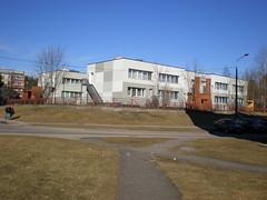 school building (staticterminal) Tags: city town club daugavpils latvia