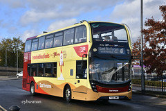 Go Ahead East Yorkshire 913, YX69NMF. (EYBusman) Tags: go ahead east yorkshire motor services eyms north bus coach brand new st stephens paragon interchange hull city centre alexander dennis enviro 400 mmc yx69nmf eybusman