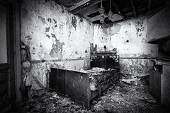 Quietly and Safely Insane (Dagelijksbrood) Tags: urbex blackwhite bedroom europe decay abandoned exploration house lostplaces laundryday nikon d3300 digital oncewashome spooky tamron1024mmf3545diiivchld urbanexploring verlaten zwartwit dream dreaming goodnight