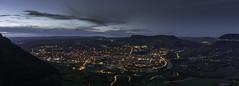 Panorama Millau (benito_photo) Tags: millau aveyron france heurebleue bluehour longexposure panorama paysage occitanie massifcentral midipyrénées cityscape d850 nikkor20mm landscape