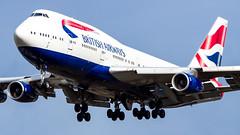 Boeing 747-436 G-CIVN British Airways (William Musculus) Tags: london heathrow lhr egll spotting aviation plane airplane william musculus gcivn british airways boeing 747436 ba baw 747400