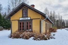 Järle station (Michael Erhardsson) Tags: järle station november 2019 nbvj