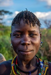 Karamojong Woman (Rod Waddington) Tags: africa african afrique afrika uganda ugandan karamoja karamojong traditional tribe tribal woman portrait people outdoor beads eastern culture cultural
