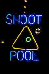 Shoot Pool (Thomas Hawk) Tags: america chicago cookcounty illinois usa unitedstates unitedstatesofamerica neon pool shootpool fav10