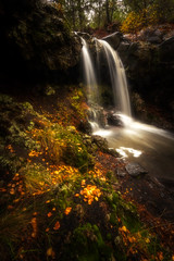 Sicily fairy tale (raffaeledirosa) Tags: landscapes etna longexposure longexposition longexpo sicily sicilia autumn autunno leaves waterfall natgeo natgeotravel colourful