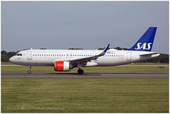 EI-SIF Airbus A320-251N | SAS Scandinavian Airlines Ireland | Manchester MAN/EGCC | 29.06.2019 (<Steven>) Tags: man manchesterairport egcc scandinavianairlines sas airbusa320