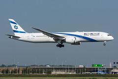 4X-EDI - El Al Israel Airlines - Boeing 787-9 Dreamliner (5B-DUS) Tags: 4xedi el al israel airlines boeing 7879 dreamliner b789 ams eham amsterdam schiphol airport airplane aircraft aviation flughafen flugzeug planespotting p spotting