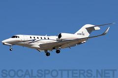 N387SL (SoCalSpotters) Tags: schweitzeraircraftleasing socalspotters c750 cessna citationx klas lasvegas