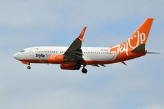 UR-SQD  CDG (airlines470) Tags: msn 32413 ln 1202 b73773v 737 737700 skyup airlines cdg airport ex easyjet as gezjr eastar jet hl8207 ursqd