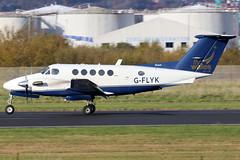G-FLYK_02 (GH@BHD) Tags: gflyk beech king b200 flywales belfastcityairport beechcraft kingair superkingair kingair200 bhd egac turboprop bizprop corporate executive aircraft aviation