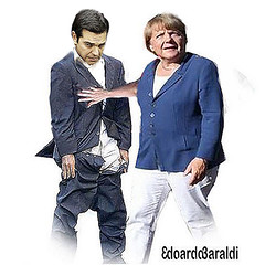 GRECIA (edoardo.baraldi) Tags: merkel cadutamuro troika tsipras vittime germania