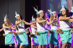 Dancers Representing Tahiti at BYU Luau (aaronrhawkins) Tags: tahiti dance girls women students luau tahitian polynesia culture stage event hula sway hips smile celebration island byu brighamyounguniversity provo utah aaronhawkins