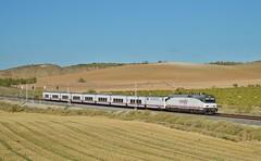 Intercity (Diego Salmeron) Tags: castillejoañover intercity talgo renfe 252040 locomotora