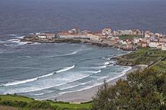 Caión y su playa, A Laracha (A Coruña) (Miguelanxo57) Tags: mar océano atlántico playa pueblo vista pintoresco costadamorte alaracha acoruña galicia caión