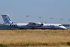 G-ECOB  CDG (airlines470) Tags: msn 4185 dash 8 dhc8 402 flybe cdg airport temporary wideroe as lnwdt gecob