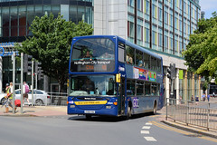 967 - YT09 YHU (Solenteer) Tags: nottinghamcitytransport 967 yt09yhu scania n270ud optare omnidekka nottingham