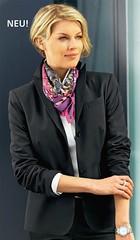 Walbusch n°1039 (Blouse et Foulard 2) Tags: blouse foulard walbusch silk scarf