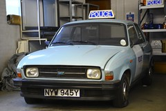 NYW 945Y (S11 AUN) Tags: london metropolitan police austin allegro area patrol incident response vehicle panda car 999 emergency metpolice nyw945y