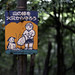 Fire protection sign at Fushimi Inari Shrine (伏見稲荷大社) in Kyoto, Japan