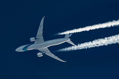 El Al Israel Boeing 787-900 4X-EDA (Thames Air) Tags: el al israel boeing 787900 4xeda contrails contrailspotting
