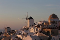 Oia sunset (rr18989) Tags: oia sunset sun rise santorin santorini ile island moulin mill grece grecque greek greece