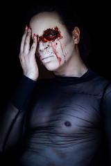 Halloween 2019 (aminefassi) Tags: a7riii portrait people halloween beauty fashion sony flash makeup mode deguisement primelens godox fe55mmf18za zeiss strobist man monster creepy men sonnartfe1855 sonnar5518za
