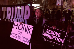remove (greenelent) Tags: removetrump washington dc streets whitehouse protest activist people